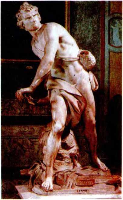 Лоренцо Бернини. Давид.