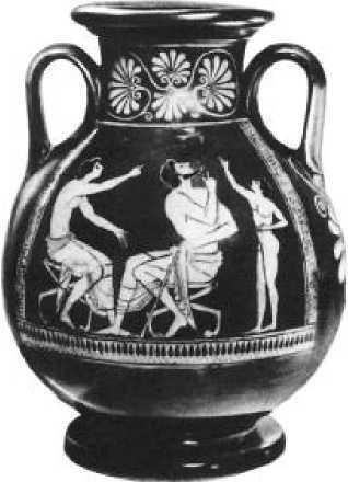 Евфроний (?). Пелика с ласточкой. Ок. 500 г. до н. э.