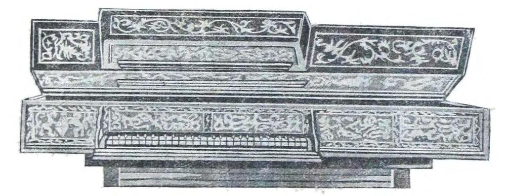 """Рис. 15. Большой английский клавесин (""""верджинель"""")"""