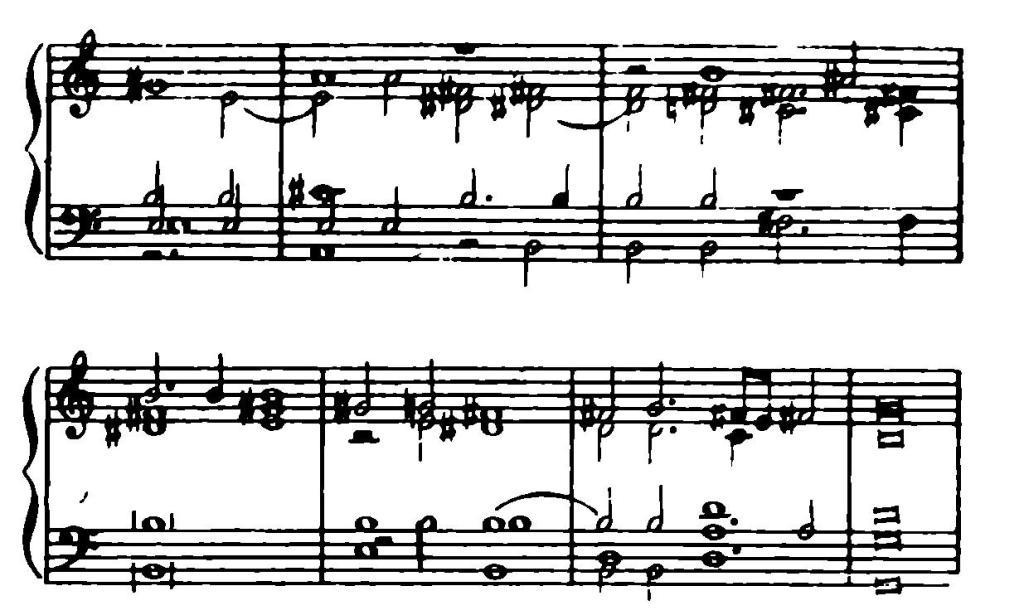 № 18.. Отрывок мадригала Вичентино.