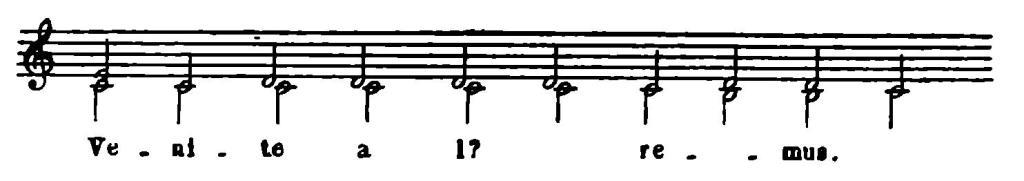 № 7б. Блуждающий органум Гвидо д'Ареццо.