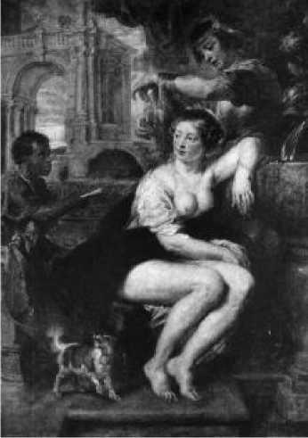 Рубенс. Вирсавия. Ок. 1635 г.