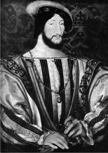Жан Клуэ Младший. Портрет Франциска I