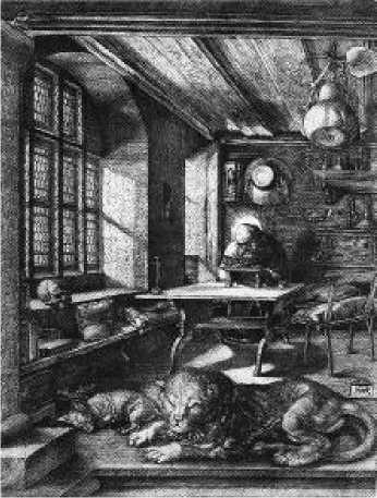 Альбрехт Дюрер. Св. Иероним. 1514 г.