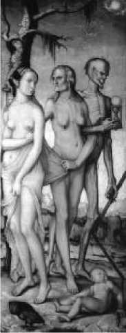 Ханс Бальдунг Грин. Три возраста и смерть. Ок. 1539 г.