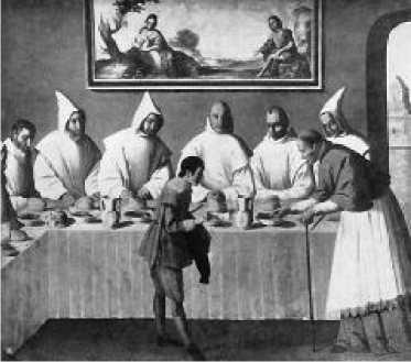 Франсиско Сурбаран. Чудо св. Гуго. 1635 г.