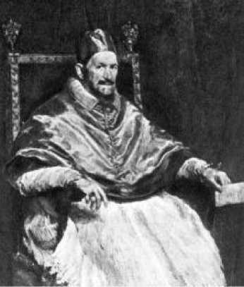 Диего Веласкес. Портрет Папы Иннокентия X. 1650 г.
