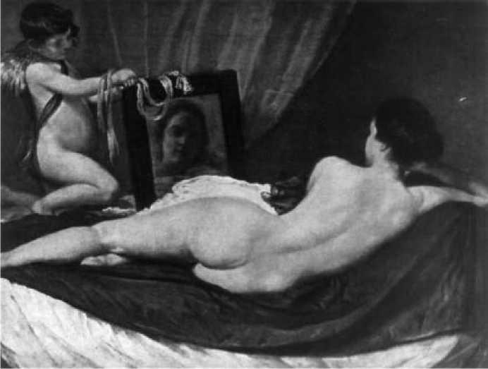Диего Веласкес. Венера перед зеркалом. 1657 г.