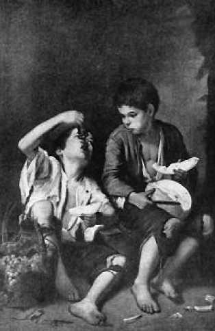 Мурильо. Мальчики с фруктами. 1650-е гг.