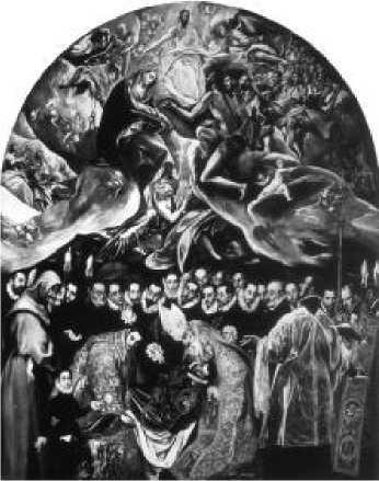 Эль Греко. Погребение графа Оргаса. 1586 г.