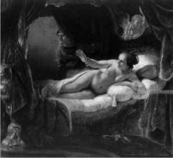 Рембрандт. Даная. 1636 г.