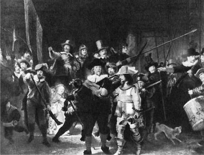 Рембрандт. Ночной дозор. 1642 г.