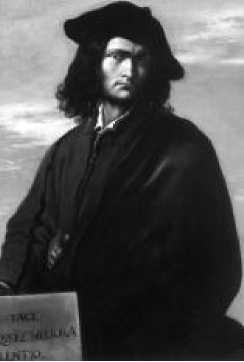 Сальватор Роза. Автопортрет. Ок. 1640 г.