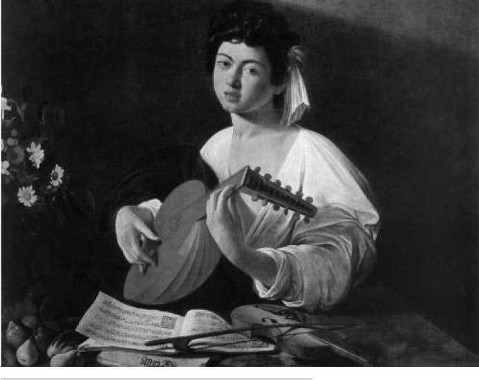 Микеланджело да Караваджо. Лютнист. 1595 г.
