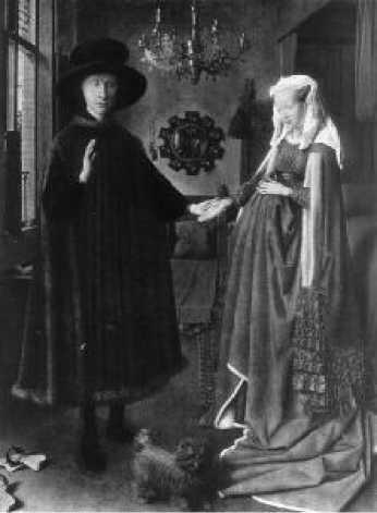 Ян ван Эйк. Портрет четы Арнольфини 1434 г.