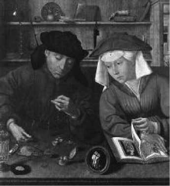 К. Массейс. Меняла с женой. 1514 г.