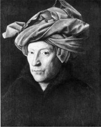 Ян ван Эйк. Портрет человека в красном тюрбане. 1433 г.Ян ван Эйк. Портрет человека в красном тюрбане. 1433 г.