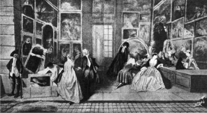 Антуан Ватто. Вывеска для антикварной лавки Жерсена (правая часть). Ок. 1721 г.