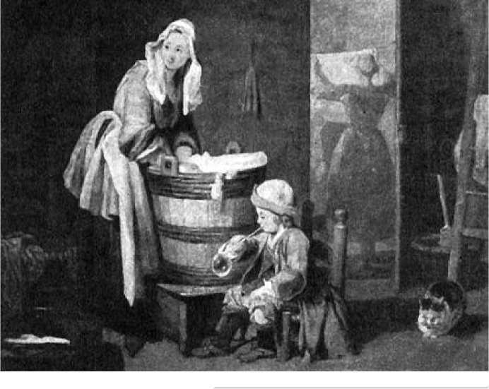 Жан Батист Шарден. Прачка. Ок. 1737 г.