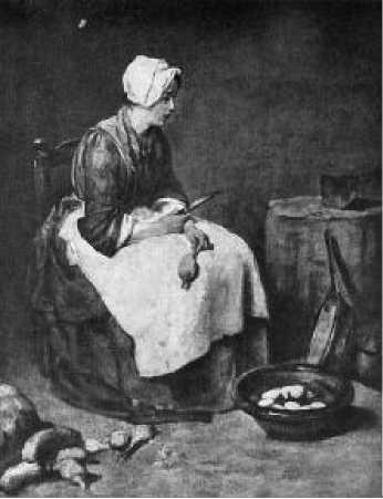 Жан Батист Шарден. Кухарка. 1738 г.