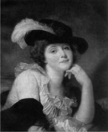 Жан Батист Грёз. Портрет Софи Арну. Ок. 1786 г.