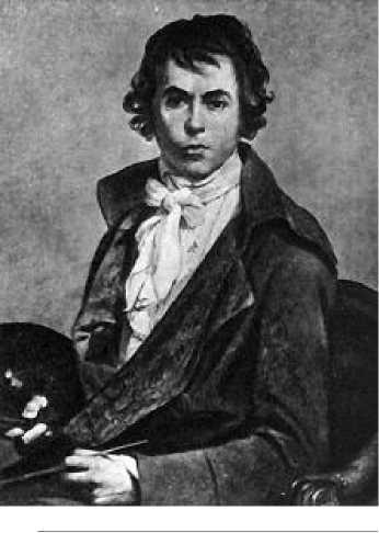 Жак Луи Давид. Автопортрет. 1794 г.