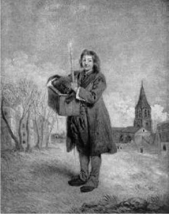 Антуан Ватто. Савояр. Ок. 1709 г.