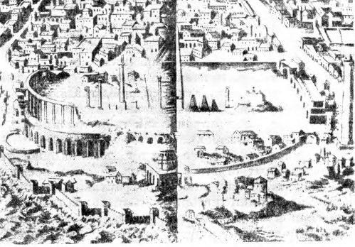 Рис. 119. Византия в эпоху восточно-римских императоров.