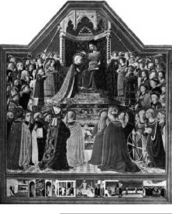 Фра Беато Анджелико. Коронование Марии. Ок. 1435-1436 г.