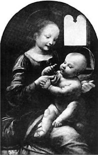 Леонардо да Винчи. Мадонна с цветком (Мадонна Бенуа). 1470-е гг.