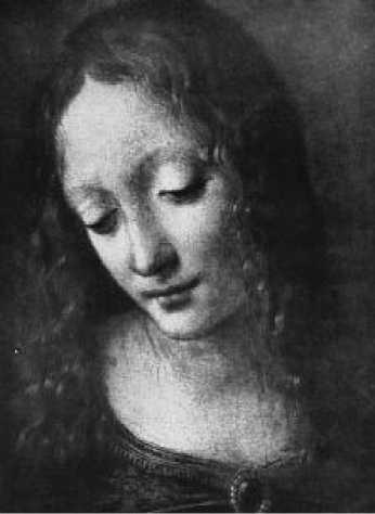 Леонардо да Винчи. Мадонна в скалах. Фрагмент. 1483-1493 гг.