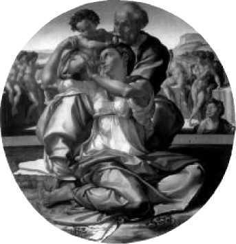 Микеланджело. Мадонна Дони. 1503-1504 гг.