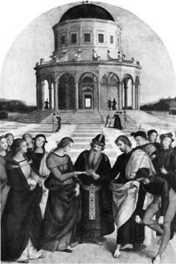 Рафаэль. Обручение Марии. 1504 г.