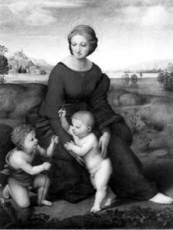 Рафаэль. Мадонна в зелени. 1505 г.
