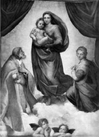 Рафаэль. Сикстинская мадонна. 1515-1519 гг.Рафаэль. Сикстинская мадонна. 1515-1519 гг.