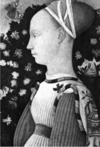 Доменико Венециано. Женский портрет. 1440
