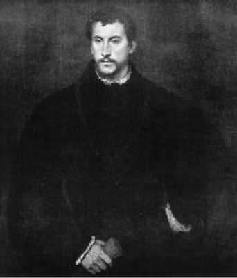 Тициан. Портрет Ипполито Риминальди. Конец 1540-х гг.