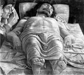 Андреа Мантенья. Мертвый Христос. После 1474 г.