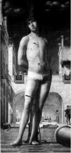 Антонелло да Мессина. Св. Себастьян. 1476 г.