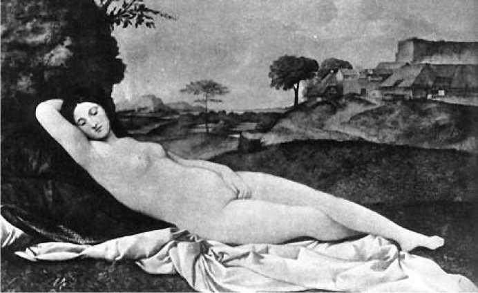 Джорджоне. Спящая Венера. Ок. 1508 г.