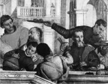 Веронезе. Пир в доме Левия. 1573 г.