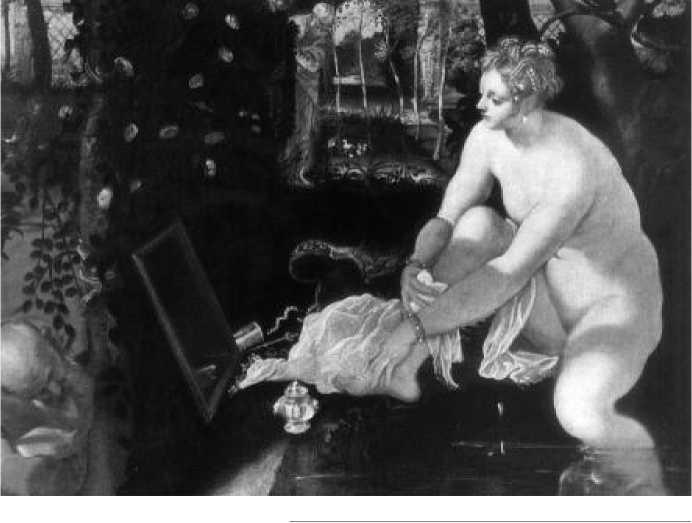 Тинторетто. Сусанна и старцы. Ок. 1560 г.
