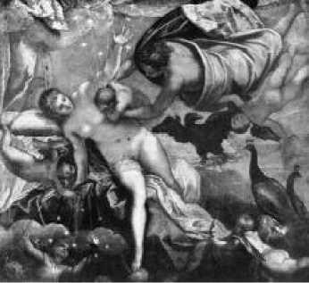 Тинторетто. Происхождение Млечного Пути. 1570 г.