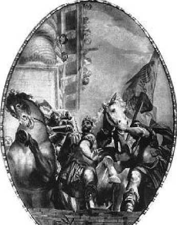 Веронезе. Триумф Мардохея. 1556 г.
