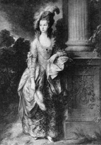 Томас Гейнсборо. Портрет миссис Грехэм. 1777 г.