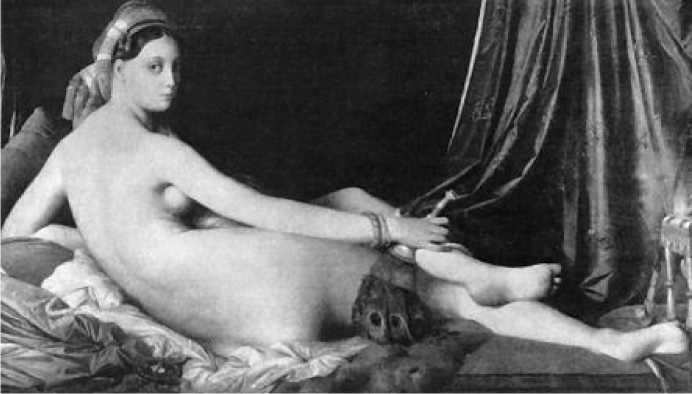 Жан Огюст Доминик Энгр. Большая одалиска. 1814 г.