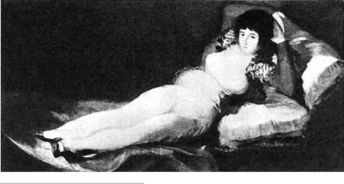 Ф. Гойя. Маха одетая. 1802 г.