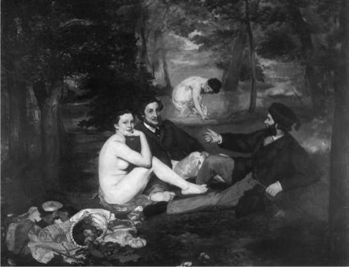 Э. Мане. Завтрак на траве. 1863 г.