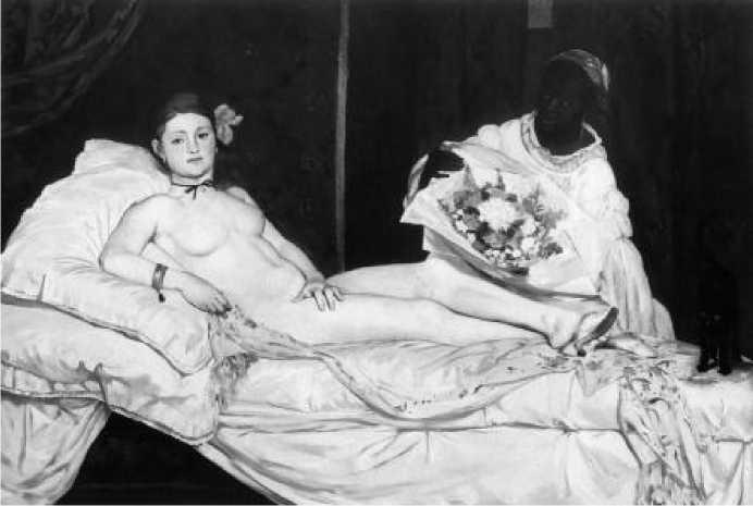 Э. Мане. Олимпия. 1863 г.