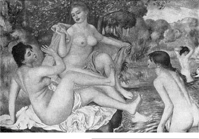 О. Ренуар. Купальщицы. 1884-1887 гг.